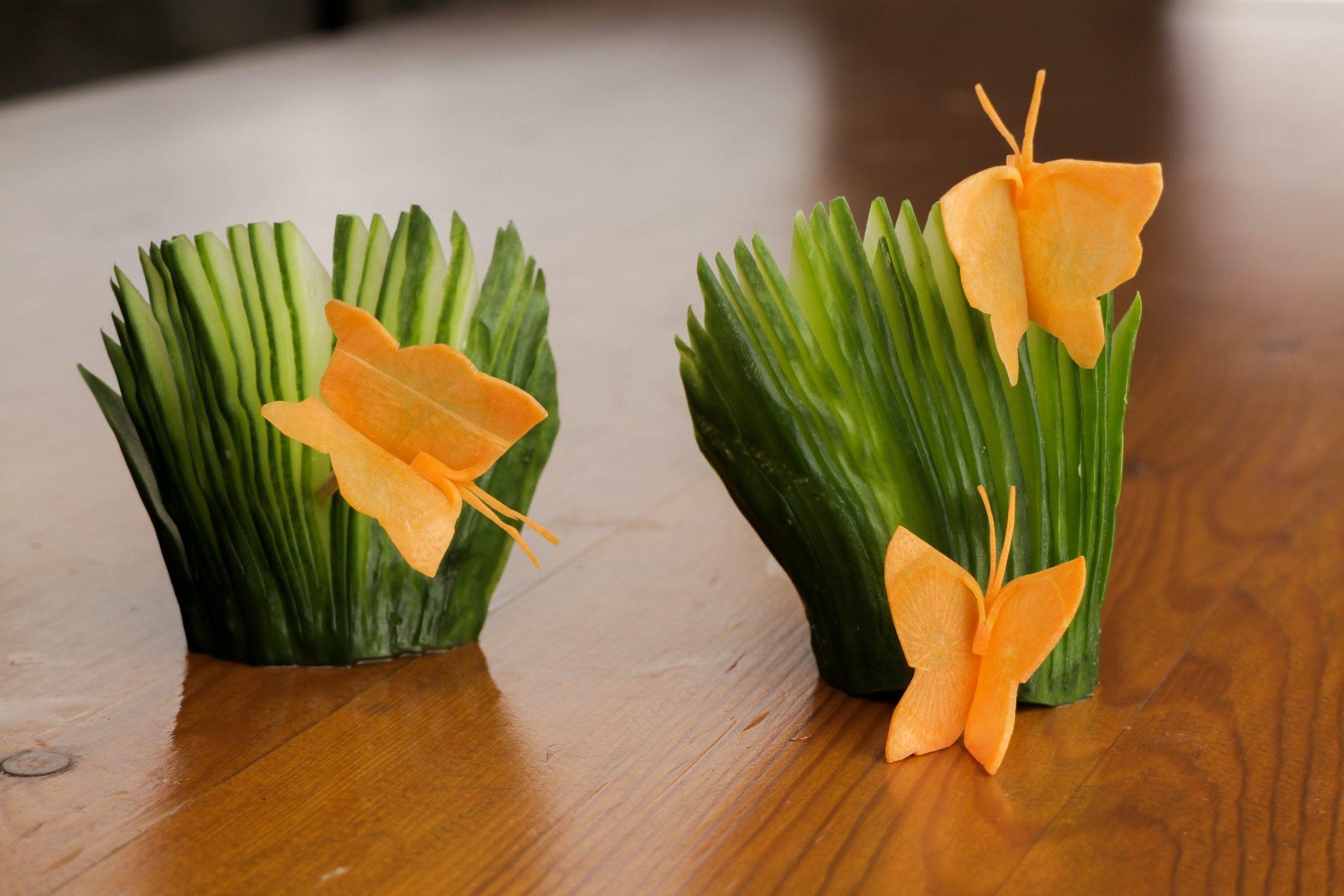 Comment faire des papillons de carotte ?