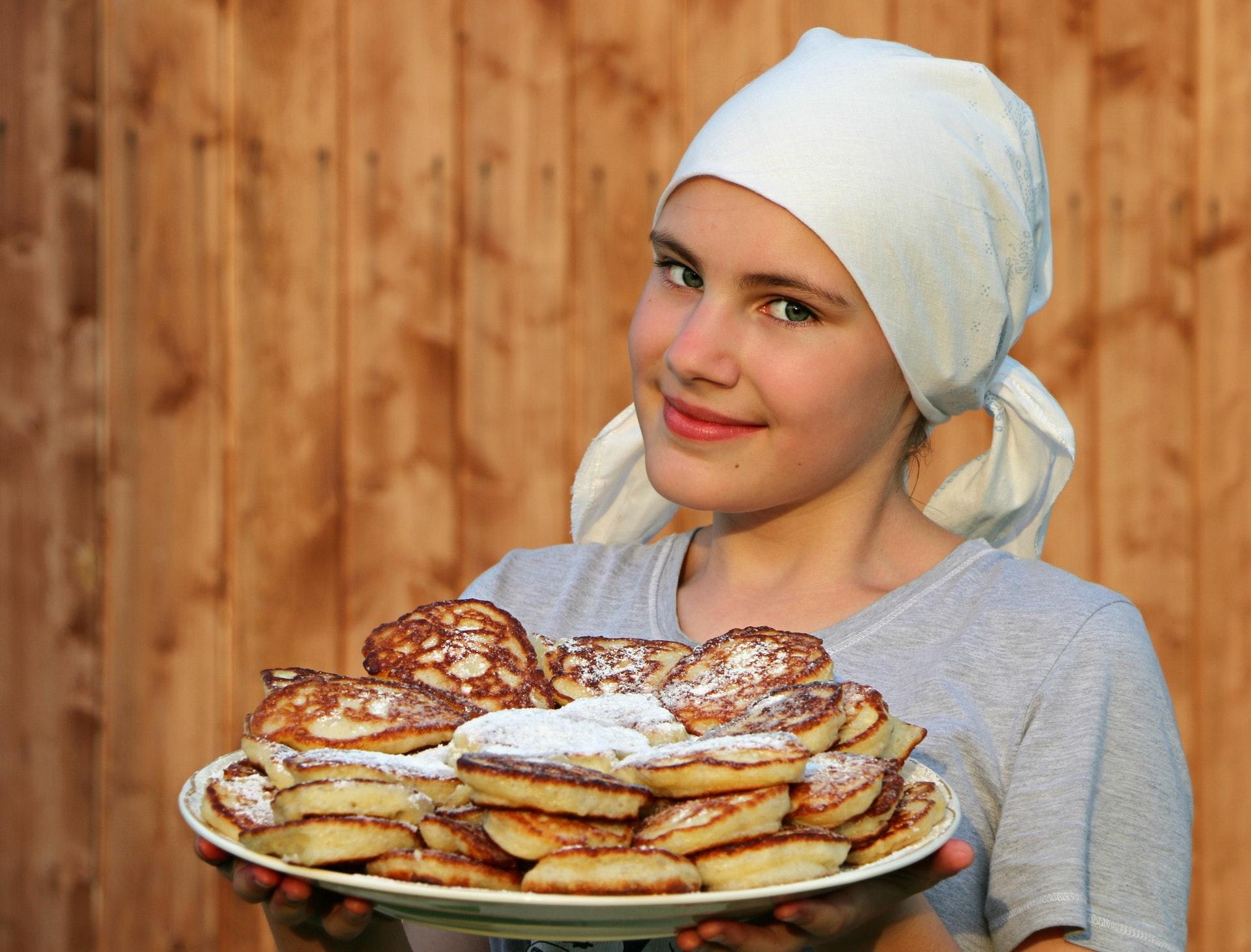 les pancakes sont plus épais que les crêpes