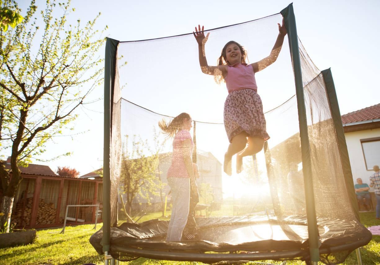 réparation trampoline enfant